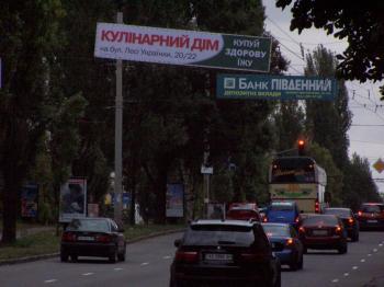 Конструкция №1315 - Сторона А (Фото тролла на Л.Українки б-р, 20/22.)