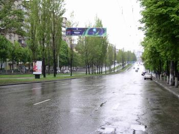 Конструкция №1316 - Сторона А (Фото тролла на Л.Українки б-р, 9)