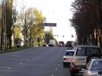 Конструкция №1317 - Сторона А (Фото тролла на Л.Українки б-р, 22)