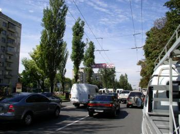 Конструкция №1318 - Сторона А (Фото тролла на Л.Українки б-р, 15)