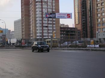 Конструкция №1329 - Сторона А (Фото тролла на Л.Українки б-р, 44)