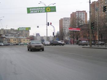Конструкция №1334 - Сторона А (Фото тролла на Л.Українки б-р, 25)