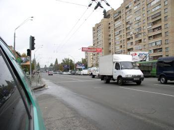 Конструкция №2903 - Сторона А (Фото тролла на О.Довженко вул., 16)