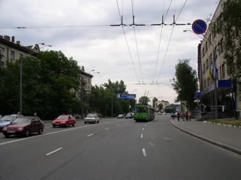 Конструкция №2905 - Сторона B (Фото тролла на О.Довженко вул., 10)