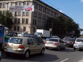 Конструкция №2907 - Сторона А (Фото тролла на О.Довженко вул., )