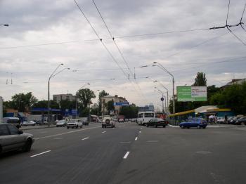 Конструкция №2908 - Сторона B (Фото тролла на О.Довженко вул., 6)