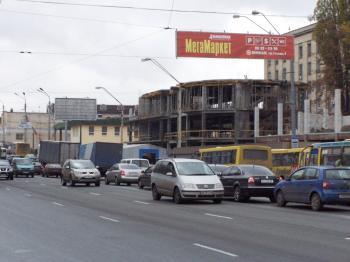 Конструкция №2911 - Сторона B (Фото тролла на О.Довженко вул., 2)