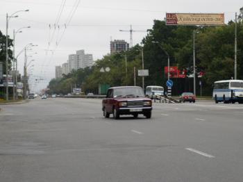 Конструкция №3053 - Сторона А (Фото тролла на Перемоги пр-т, 123)
