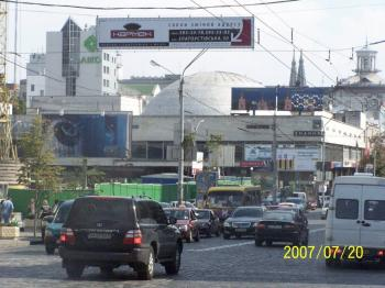 Конструкция №307 - Сторона B (Фото тролла на В.Васильківська вул., 60)