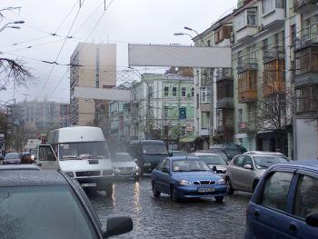 Конструкция №313 - Сторона B (Фото тролла на В.Васильківська вул., 80)