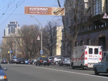 Конструкция №320 - Сторона А (Фото тролла на В.Васильківська вул., 79)