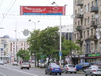 Конструкция №325 - Сторона А (Фото тролла на В.Васильківська вул., 122)