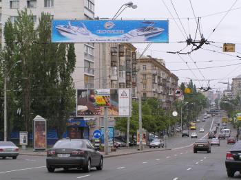Конструкция №327 - Сторона А (Фото тролла на В.Васильківська вул., 139)