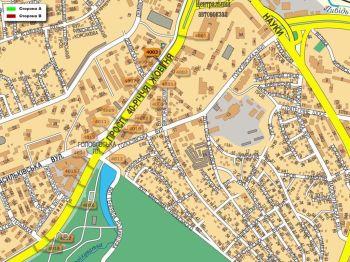 Карта - Троллы на 40-річчя Жовтня пр-т(конструкция №4003)