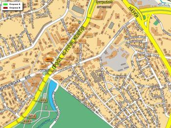 Карта - Троллы на 40-річчя Жовтня пр-т(конструкция №4011)