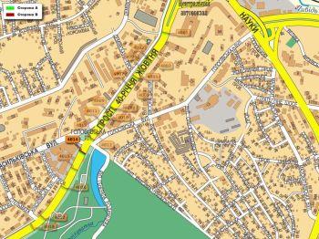 Карта - Троллы на 40-річчя Жовтня пр-т(конструкция №4014)