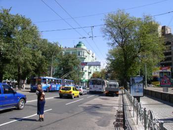 Конструкция №403 - Сторона А (Фото тролла на В.Житомирська вул., 40)