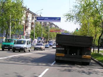 Конструкция №6401 - Сторона B (Фото тролла на Будівельників вул., )