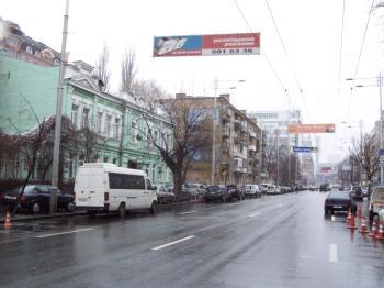 Конструкция №711 - Сторона А (Фото тролла на Жилянська вул., 36)