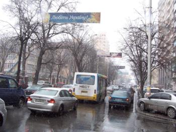 Конструкция №734 - Сторона А (Фото тролла на Жилянська вул., 88)