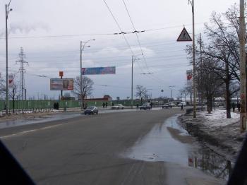 Конструкция №7601 - Сторона А (Фото тролла на Т.Драйзера вул., 1)