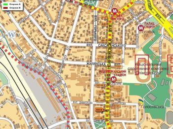Карта - Троллы на В.Васильківська вул.(конструкция №316)