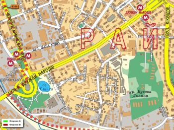 Карта - Троллы на В.Васильківська вул.(конструкция №326)