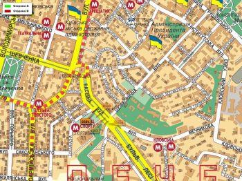 Карта - Троллы на Басейна вул.(конструкция №201)