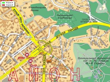 Карта - Троллы на Бастіонна вул.(конструкция №2002)