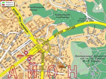 Карта - Троллы на Бастіонна вул.(конструкция №2005)