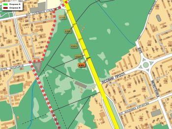 Карта - Троллы на Братиславська вул.(конструкция №6301)