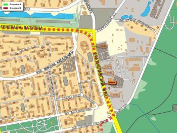 Карта - Троллы на Братиславська вул.(конструкция №6307)