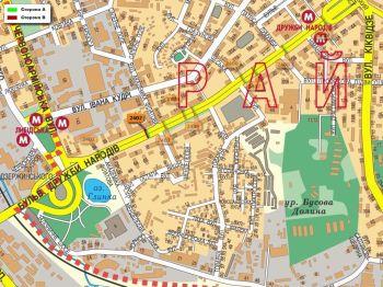Карта - Троллы на Дружби Народів б-р(конструкция №2402)