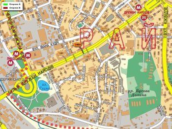 Карта - Троллы на Дружби Народів б-р(конструкция №2404)