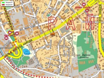 Карта - Троллы на Дружби Народів б-р(конструкция №2405)