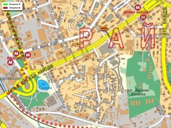Карта - Троллы на Дружби Народів б-р(конструкция №2406)
