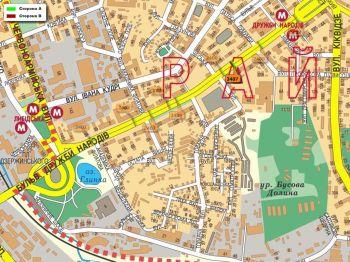 Карта - Троллы на Дружби Народів б-р(конструкция №2407)