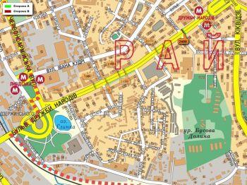 Карта - Троллы на Дружби Народів б-р(конструкция №2408)