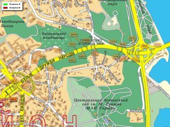 Карта - Троллы на Дружби Народів б-р(конструкция №2411)