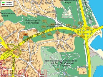 Карта - Троллы на Дружби Народів б-р(конструкция №2418)