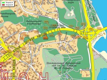 Карта - Троллы на Дружби Народів б-р(конструкция №2421)