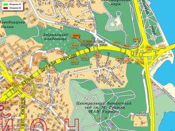 Карта - Троллы на Дружби Народів б-р(конструкция №2424)