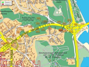 Карта - Троллы на Дружби Народів б-р(конструкция №2428)