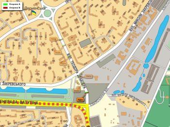 Карта - Троллы на Т.Драйзера вул.(конструкция №7601)