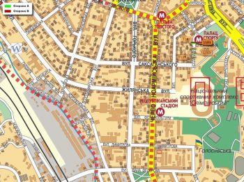 Карта - Троллы на Еспланадна вул.(конструкция №1101)