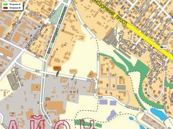 Карта - Троллы на Ернста вул.(конструкция №6701)