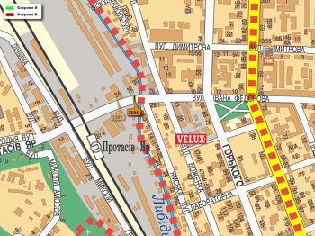 Карта - Троллы на Федорова вул.(конструкция №3501)