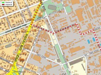 Карта - Троллы на Гагаріна пр-т(конструкция №4103)
