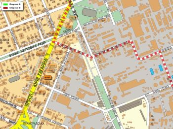 Карта - Троллы на Гагаріна пр-т(конструкция №4107)