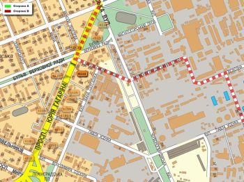 Карта - Троллы на Гагаріна пр-т(конструкция №4111)